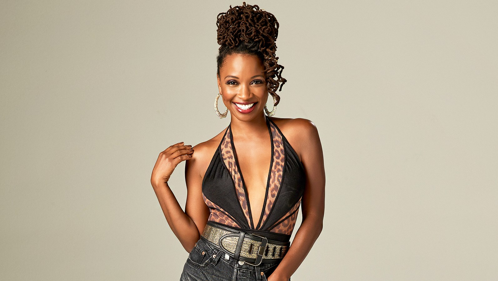 Shanola Hampton as Veronica Fisher in 'Shameless'