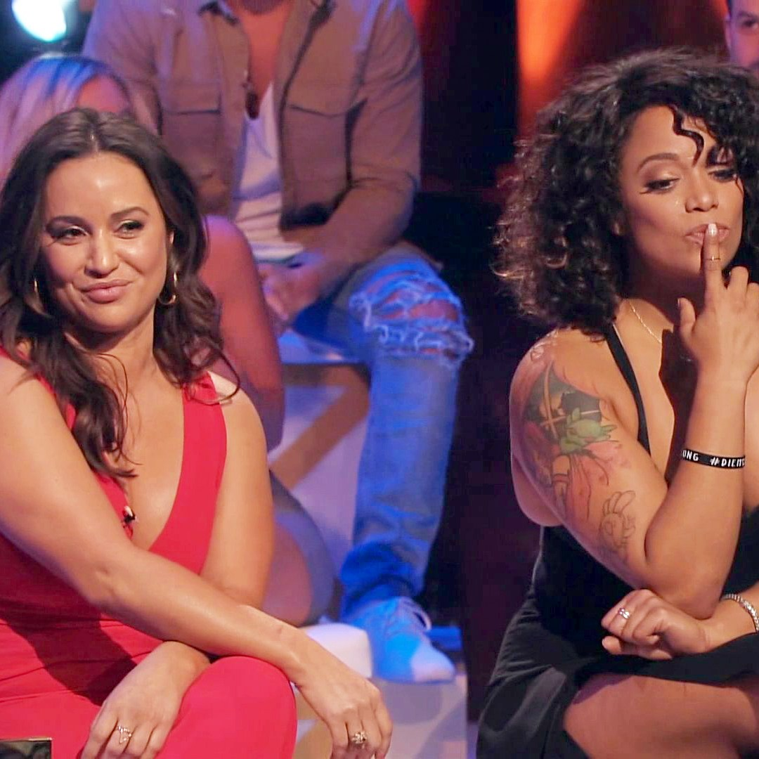 'The Challenge' stars Veronica and Aneesa