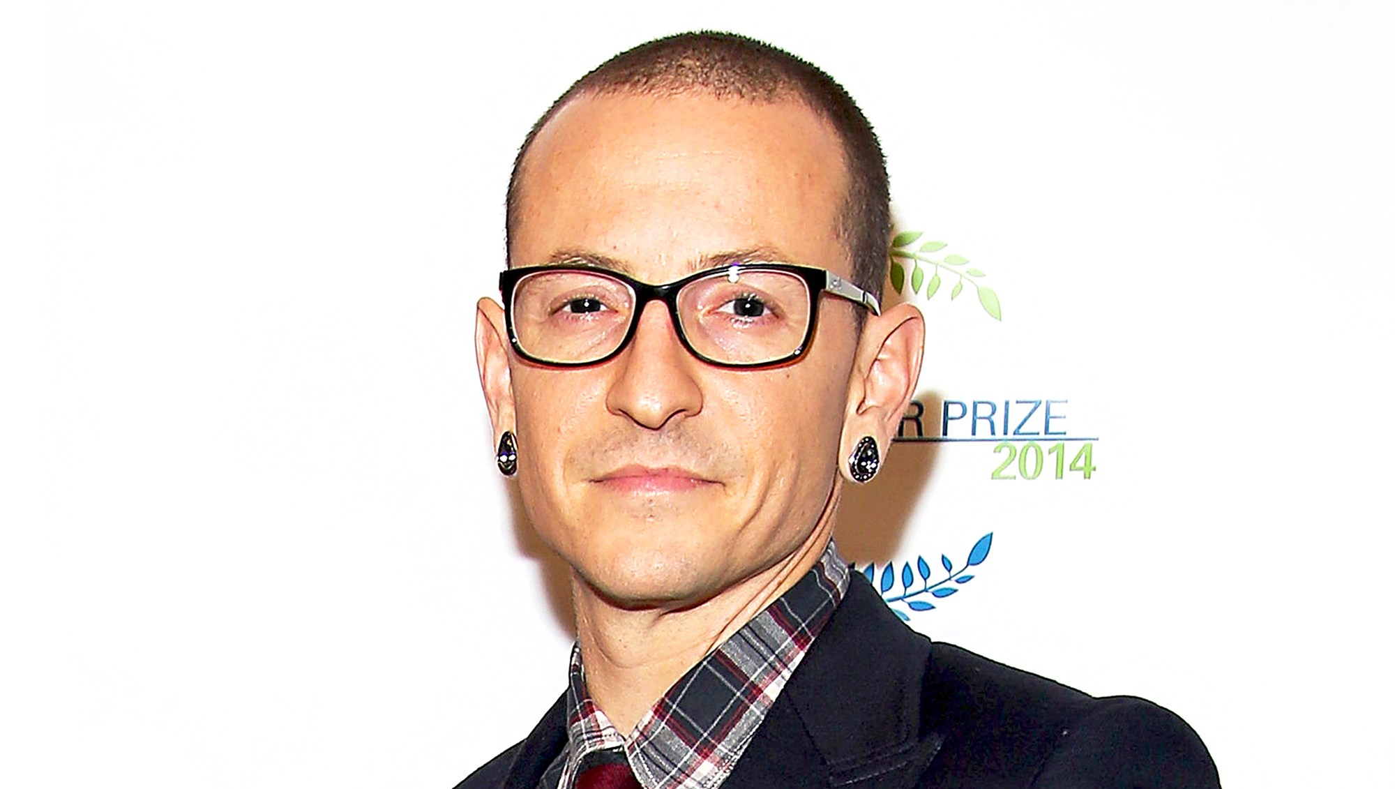 Chester Bennington of band Linkin Park attend The United Nations 2014 Equator Prize Gala at Avery Fisher Hall in New York City.