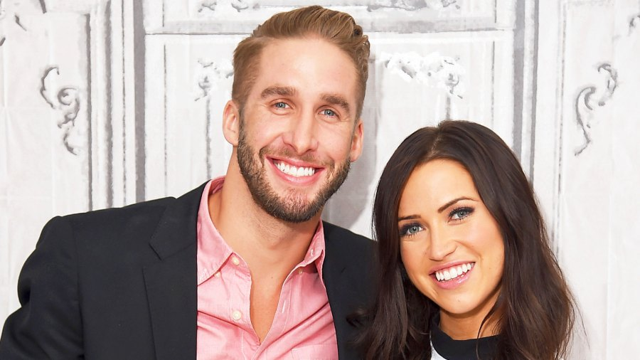 "Shawn Booth and Kaitlyn Bristowe attend the AOL BUILD Speaker Series presentation of ""After the Final Rose"" on July 29, 2015 in New York City."