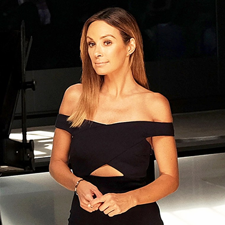 Catt Sadler during Spring 2016 New York Fashion Week: The Shows in New York City.