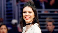 Kendall Jenner attends Los Angeles Lakers and Sacramento Kings basketball game at Staples Center March 15, 2016, in Los Angeles, California.