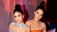Kylie Jenner and Kendall Jenner attends the 2017 Golden Globes After Party sponsored by Chrysler held at the Beverly Hilton Hotel in Beverly Hills, California.