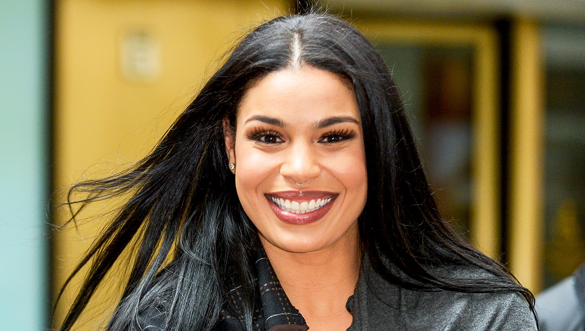 Jordin Sparks at the NBC Rockefeller Center Studios on February 23, 2017 in New York City.