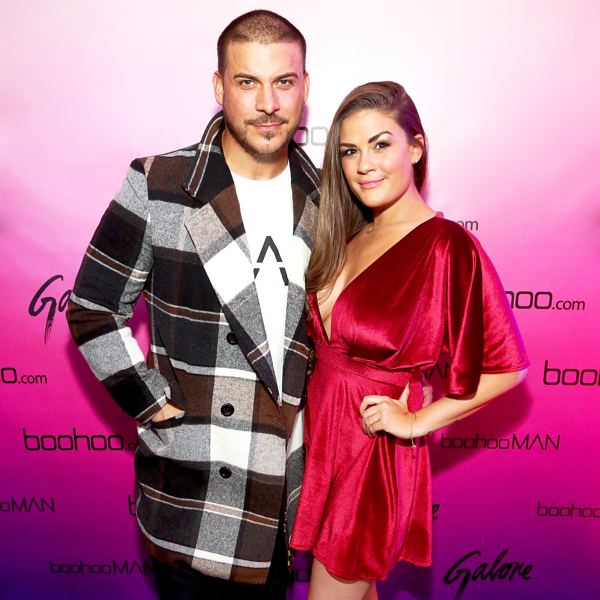 Jax Taylor and Brittany Cartwright at the boohoo.com LA Pop-up Store Launch Party with Galore Magazine on November 1, 2017 in Los Angeles, California.