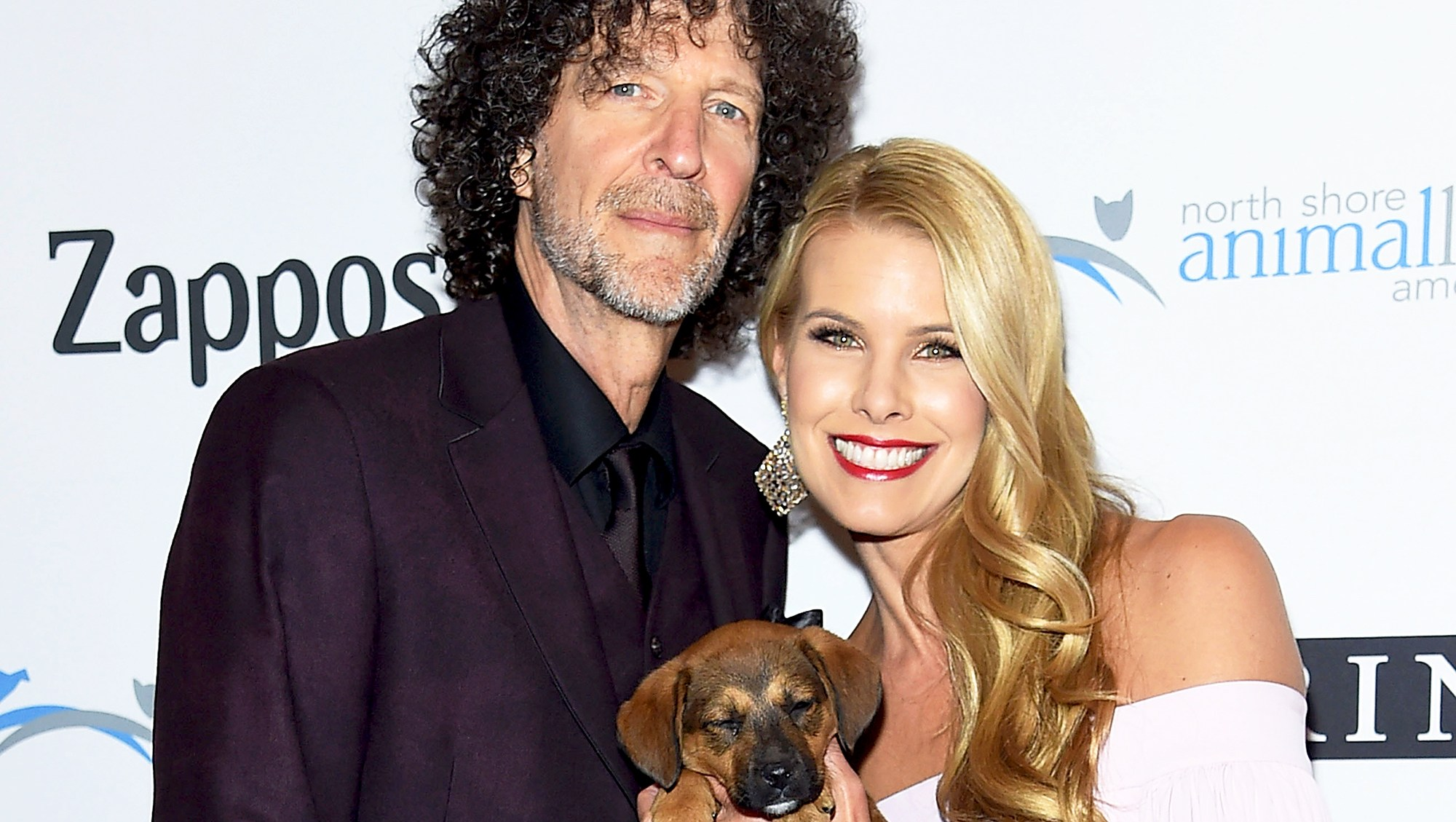 Howard Stern and Beth Ostrosky attend the 2017 North Shore Animal League America Gala at Grand Hyatt New York on December 1, 2017 in New York City.