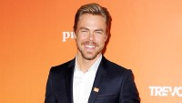Derek Hough attends The Trevor Project's 2017 TrevorLIVE LA at The Beverly Hilton Hotel in Beverly Hills, California.