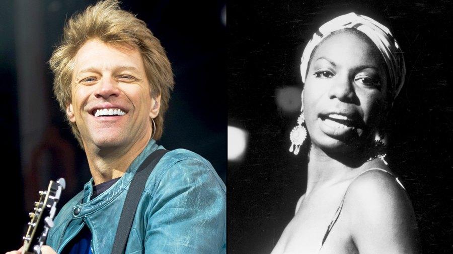 Bon Jovi and Nina Simone