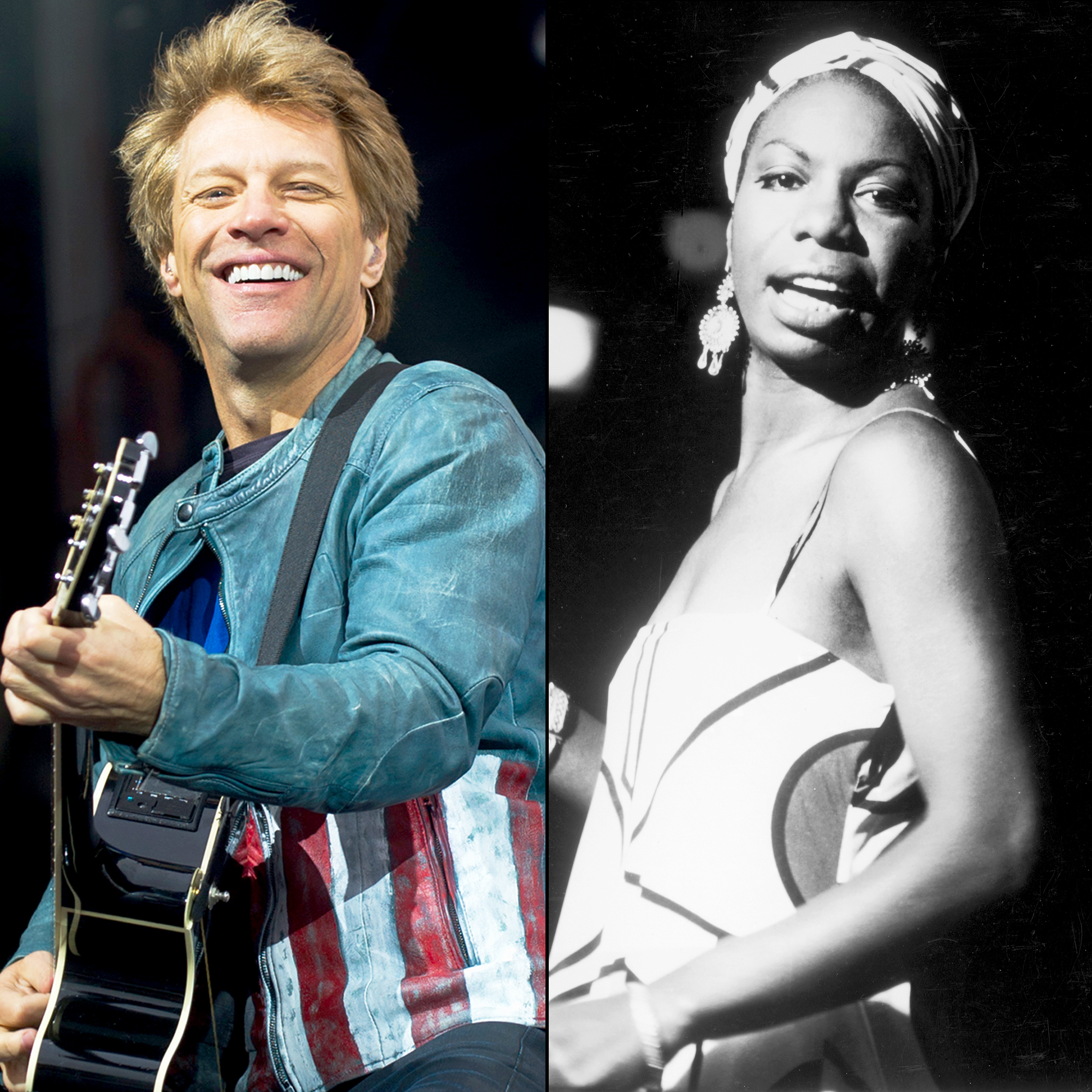 Bon Jovi and Nina Simone