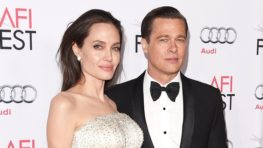 Angelina Jolie Brad Pitt By the Sea premiere