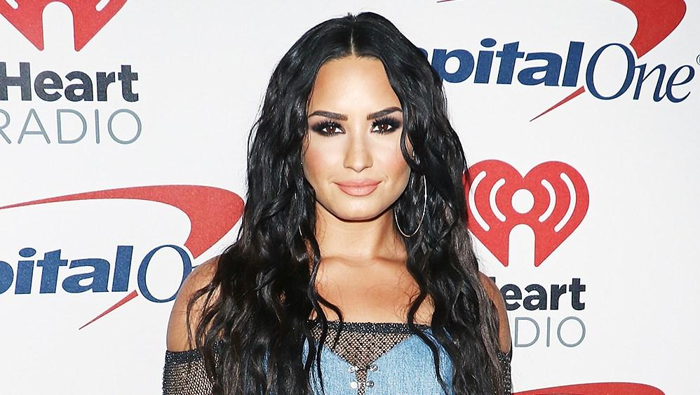 Demi Lovato iHeartRadio Jingle Ball double denim