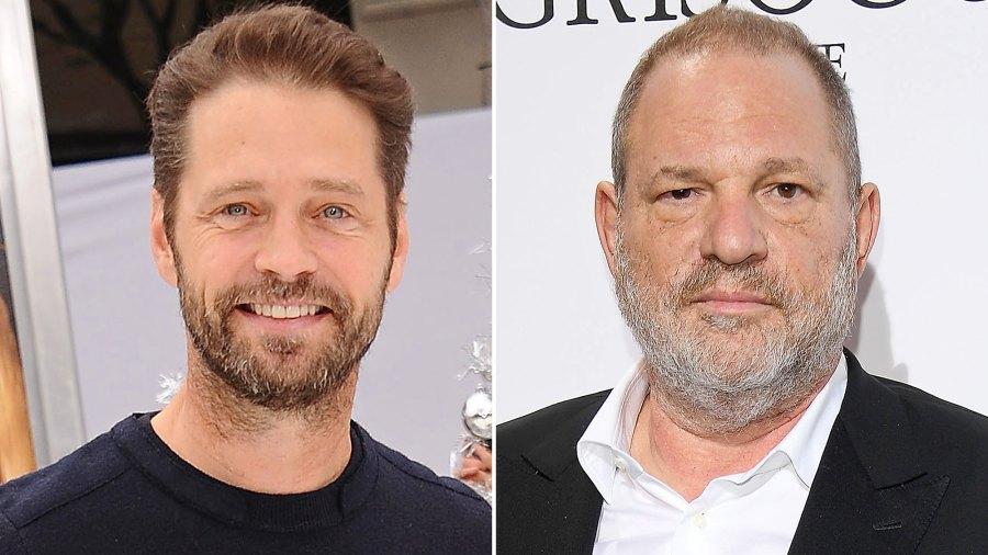 Jason Priestley, Harvey Weinstein, Punched
