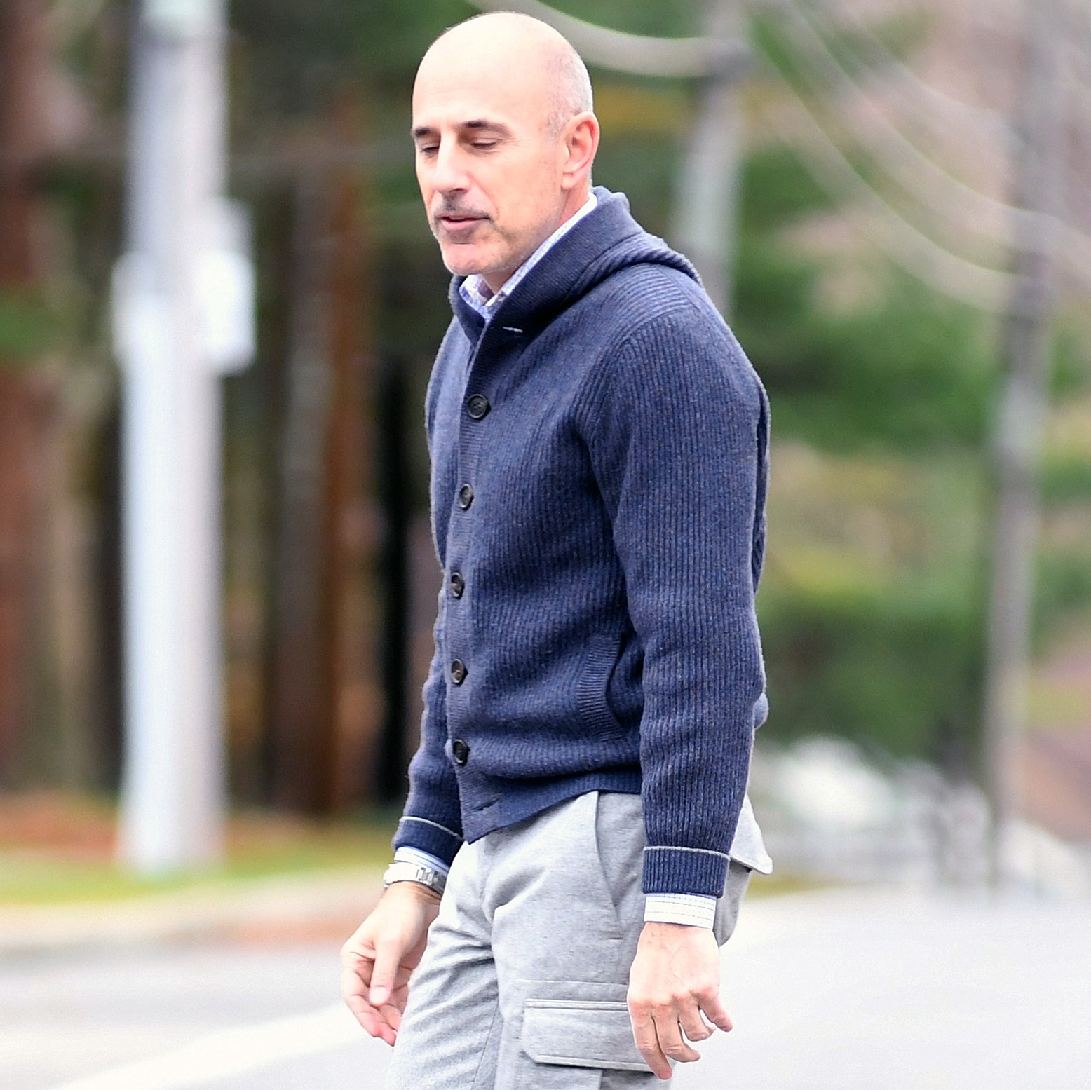 Matt Lauer no wedding ring