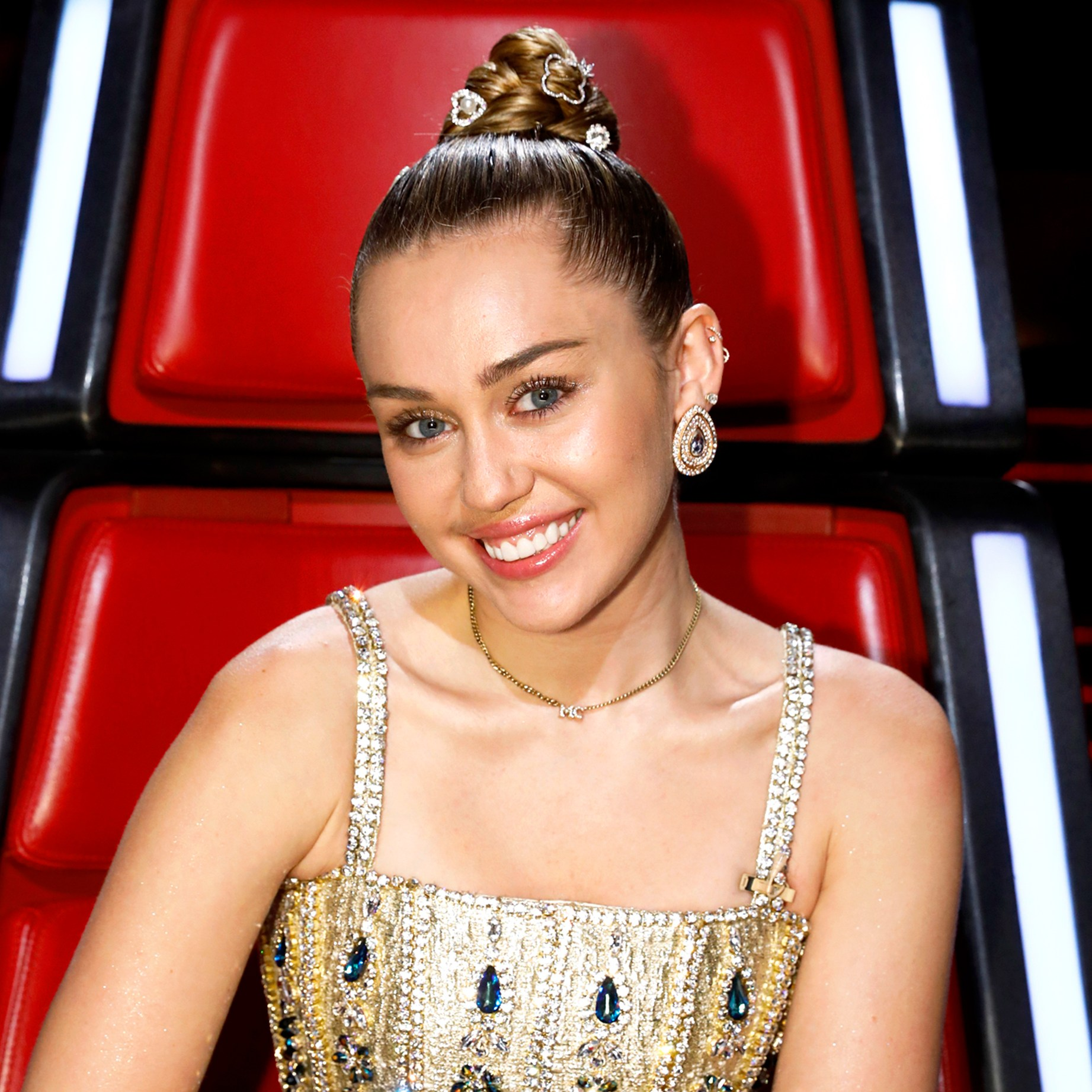 Miley Cyrus on 'The Voice'