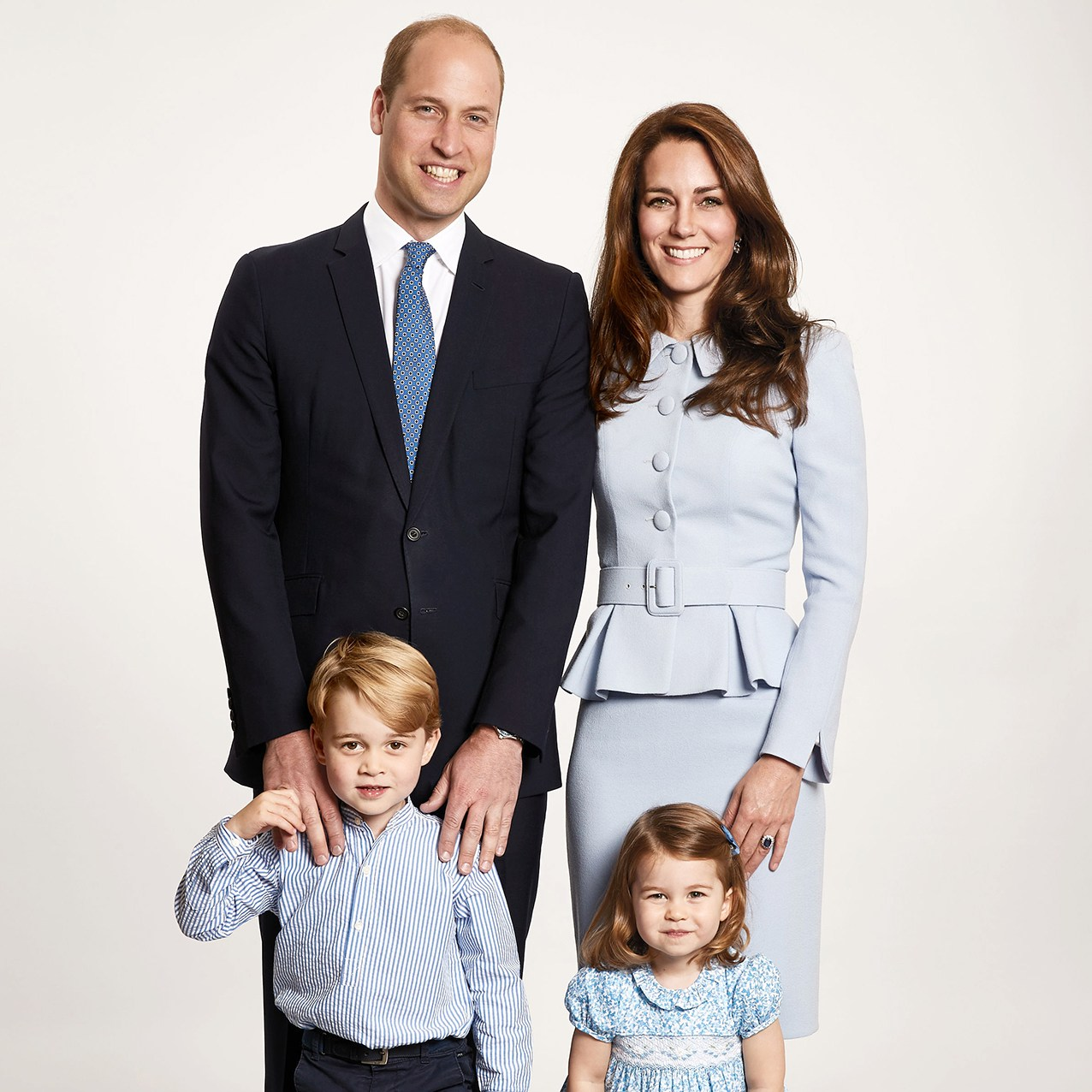 Duke and Duchess of Cambridge's 2017 Christmas card