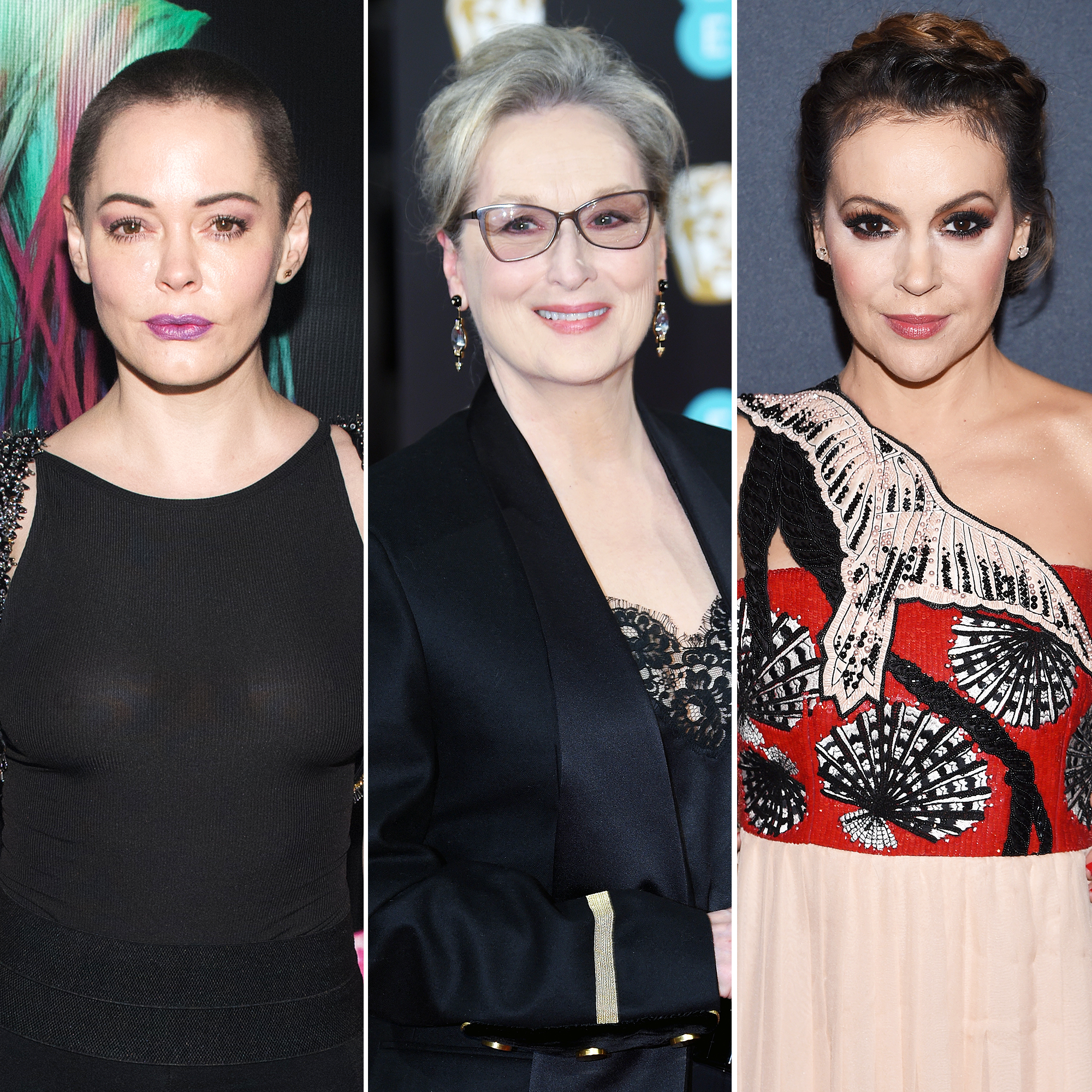 Rose McGowan Calls Alyssa Milano 'Fake': 'You Make Me Want To Vomit'