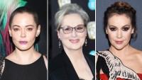 Rose McGowan Meryl Streep Alyssa Milano