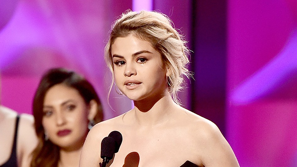 Selena Gomez Woman of the Year Award Billboard Women In Music 2017