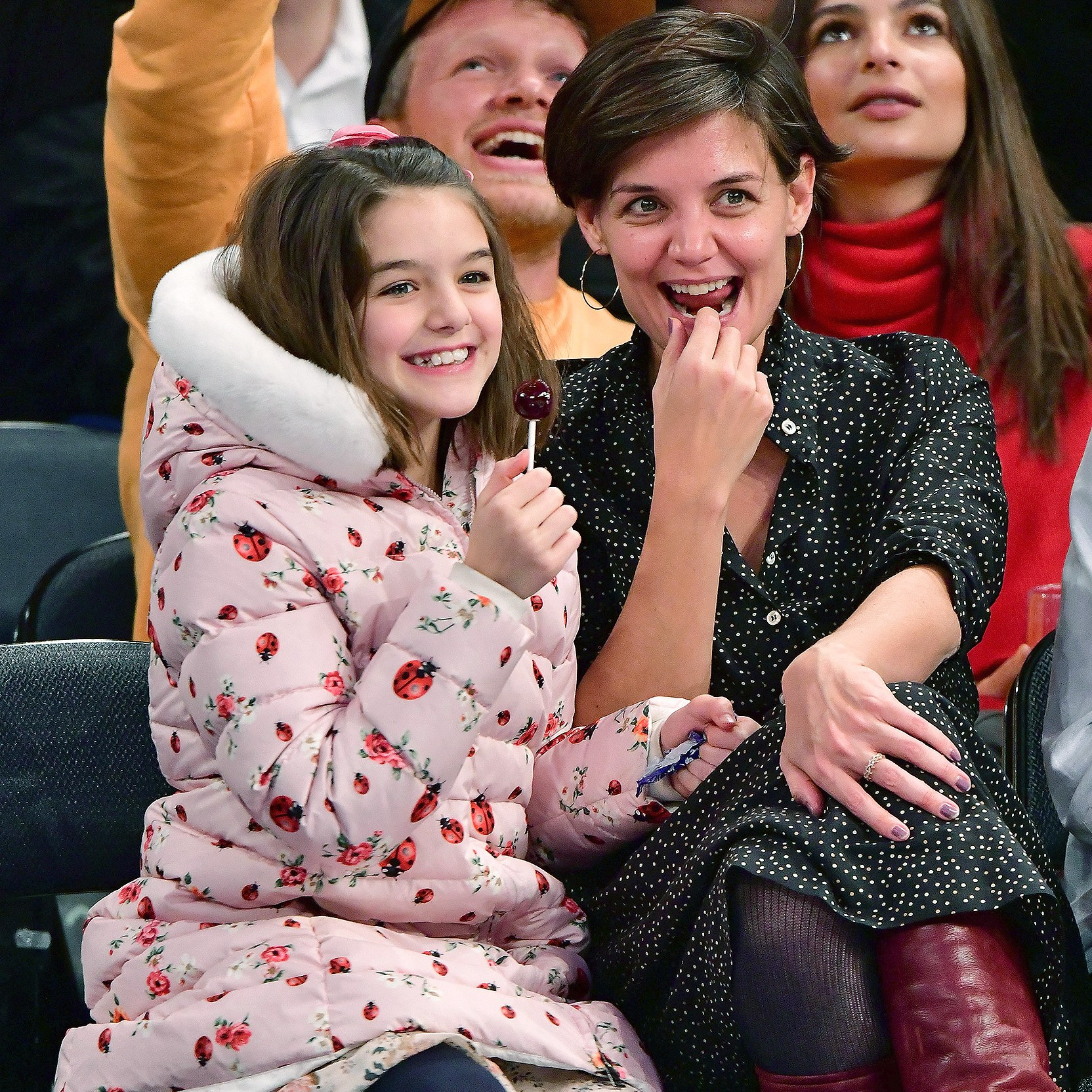 Suri Cruise, Katie Holmes, Madison Square Garden, Oklahoma City Thunder, New York Knicks