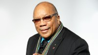 Quincy Jones attends the MusiCares Person of the Year at Los Angeles Convention Center in Los Angeles, California.