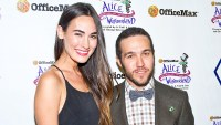Meagan Camper and Pete Wentz attend the Green Tie Ball XXI Benefiting Chicago Gateway Green at A. Finkl & Sons in Chicago, Illinois.