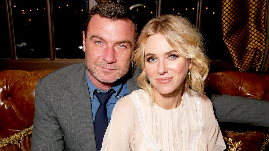 Liev Schreiber and Naomi Watts attend the Hollywood Foreign Press Association and the 2016 Toronto International Film Festival at Windsor Arms Hotel in Toronto, Canada.
