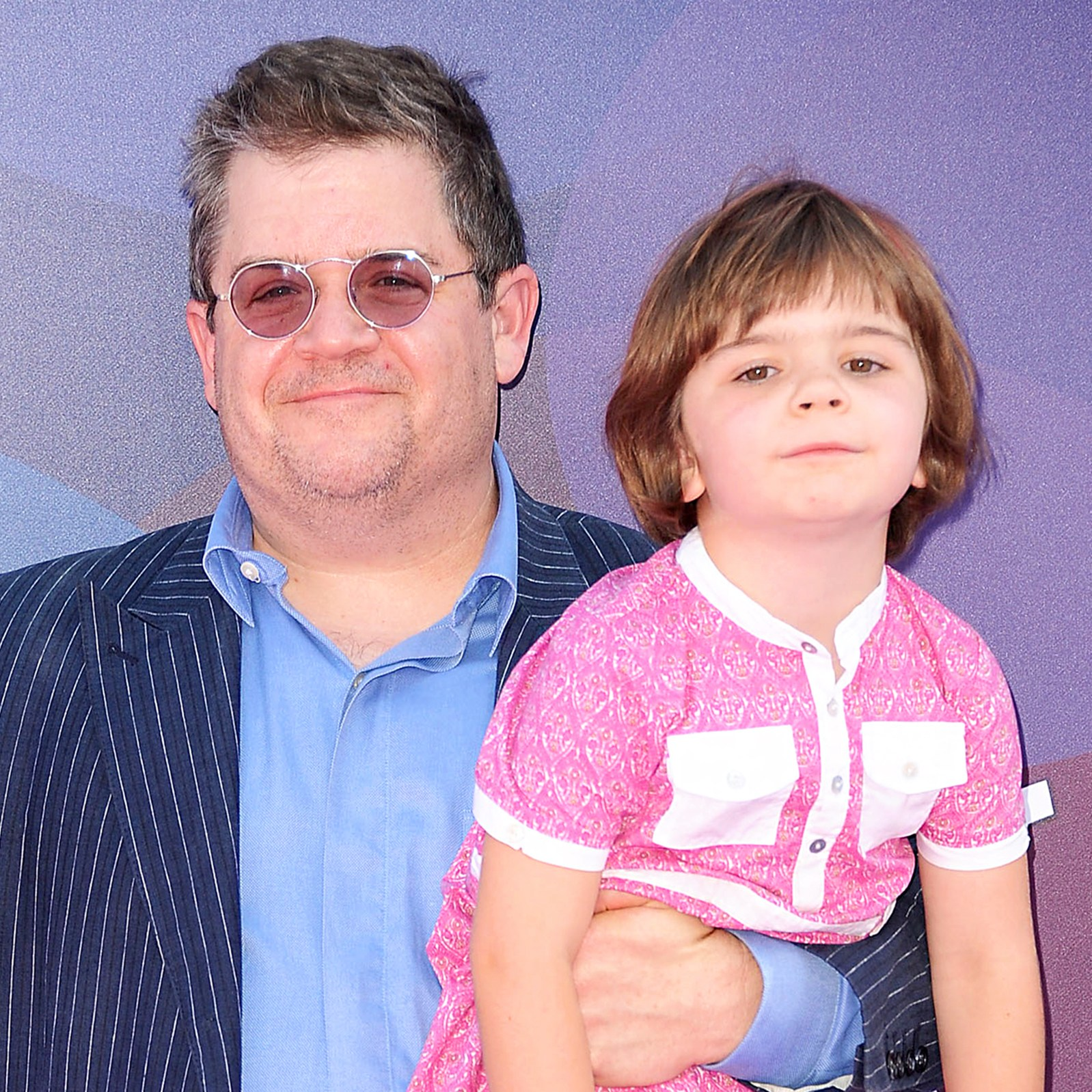 """Patton Oswalt and daughter Alice attend the 2015 premiere of """"Inside Out"""" at the El Capitan Theatre in Hollywood, California."""