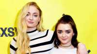 Sophie Turner and Maisie Williams attend the 2017 SXSW Conference and Festivals at Austin Convention Center in Austin, Texas.