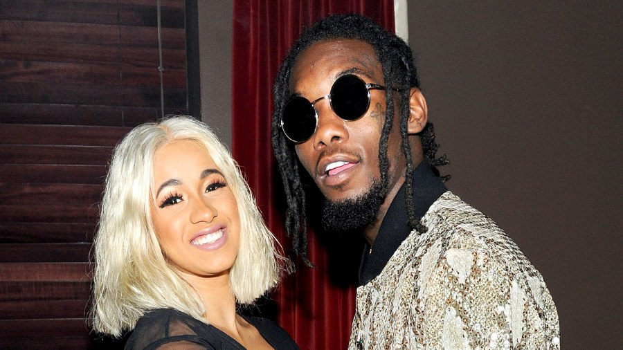 Cardi B and Offset attend NYLON's Rebel Fashion Party at Gramercy Park Hotel on September 12, 2017 in New York City.