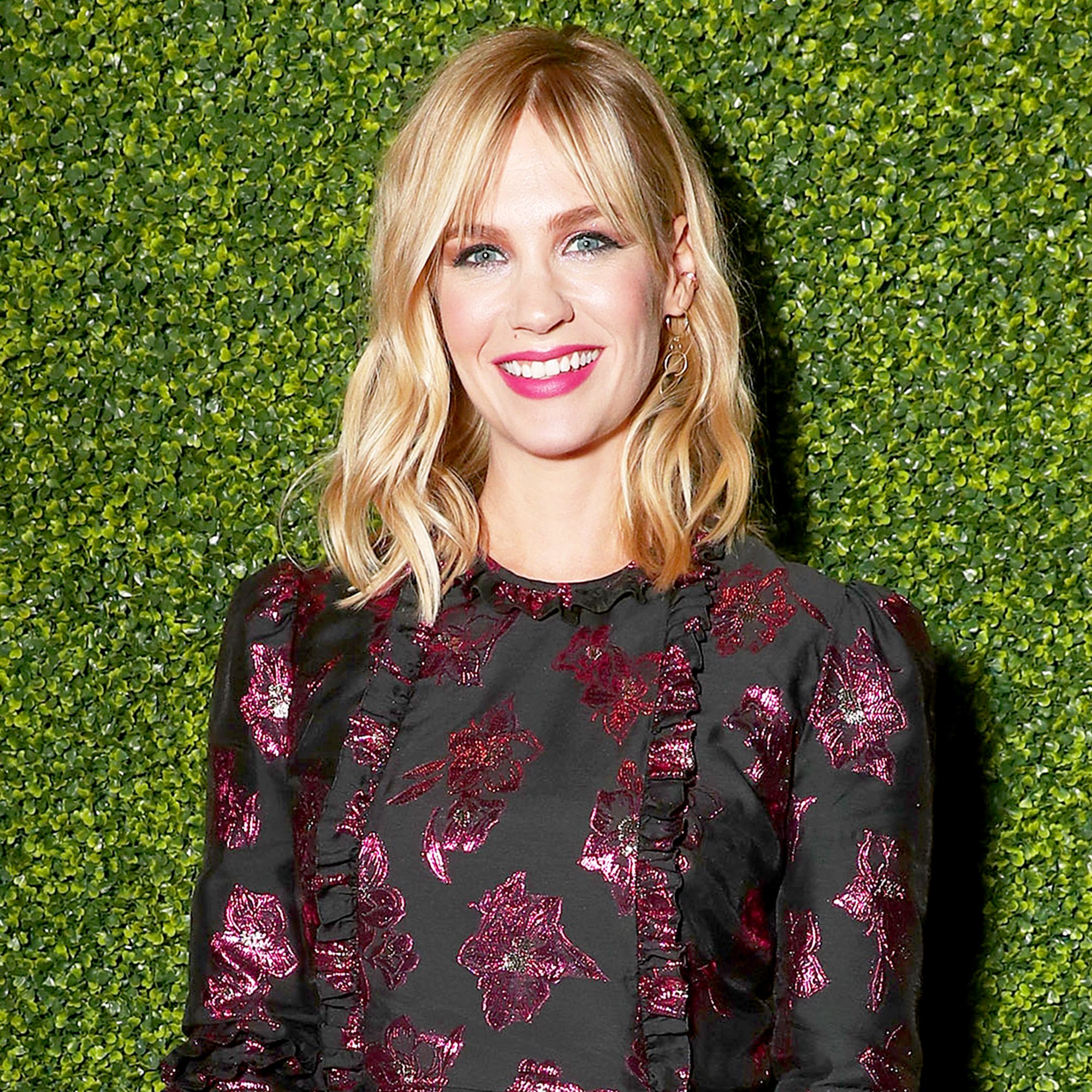 January Jones attends the FOX Fall 2017 Party at Catch LA in West Hollywood, California.
