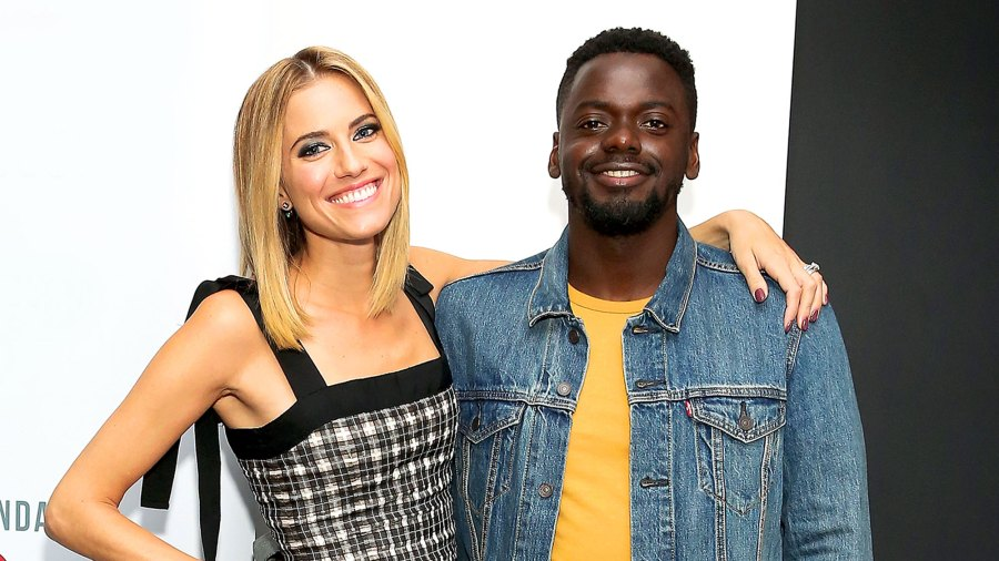"""Allison Williams and Daniel Kaluuya attend SAG-AFTRA Foundation Conversations """"Get Out"""" at SAG-AFTRA Foundation Robin Williams Center on October 11, 2017 in New York City."""