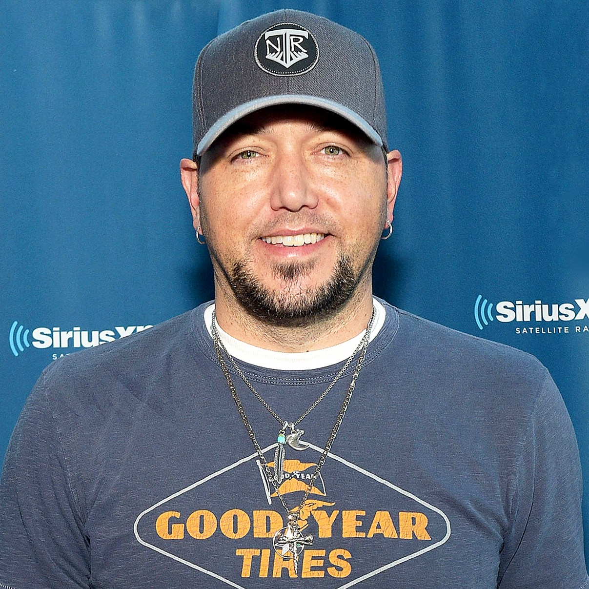Jason Aldean visits the SiriusXM Studios on January 24, 2018 in Nashville, Tennessee.