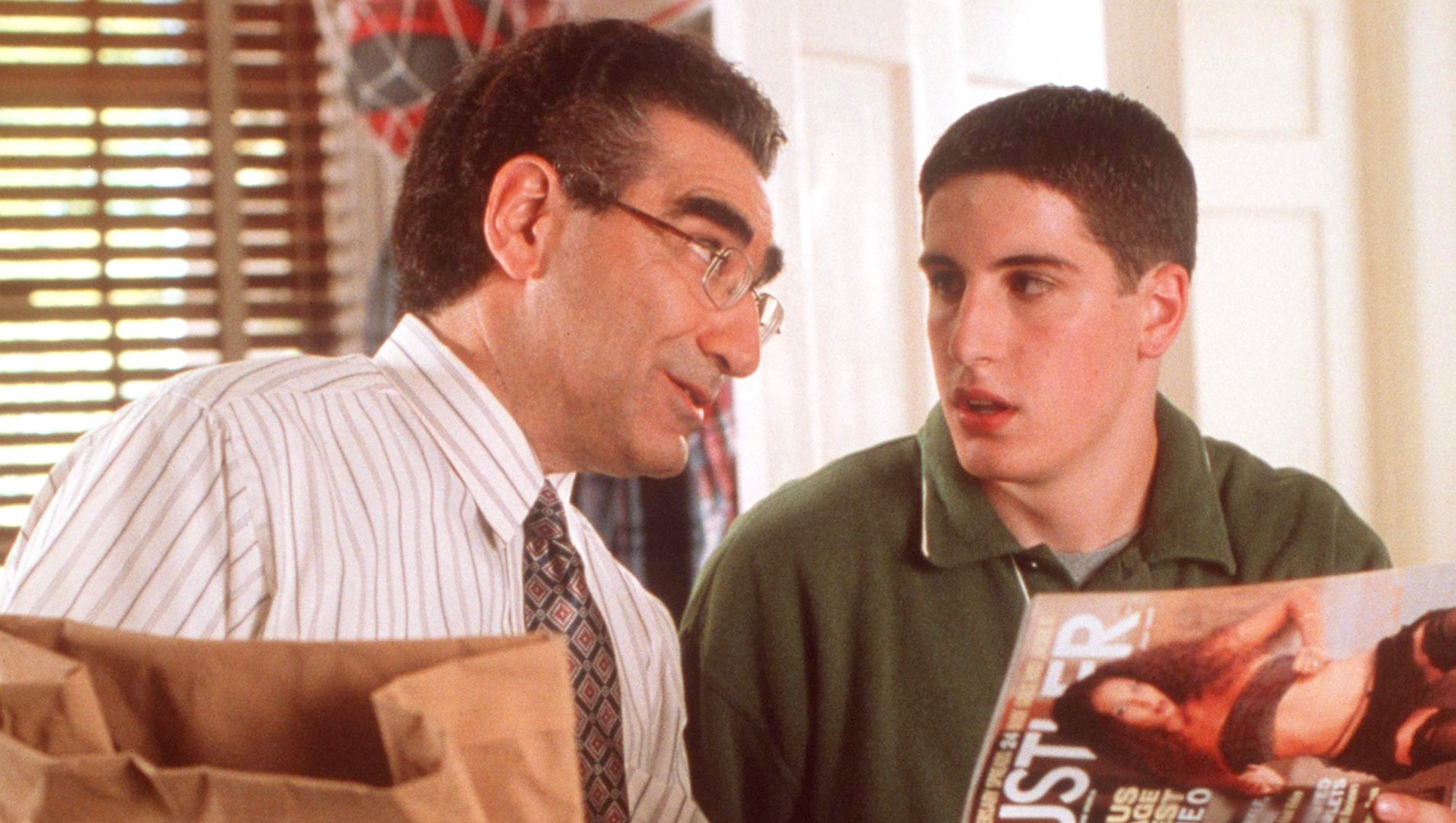 Eugene Levy and Jason Biggs