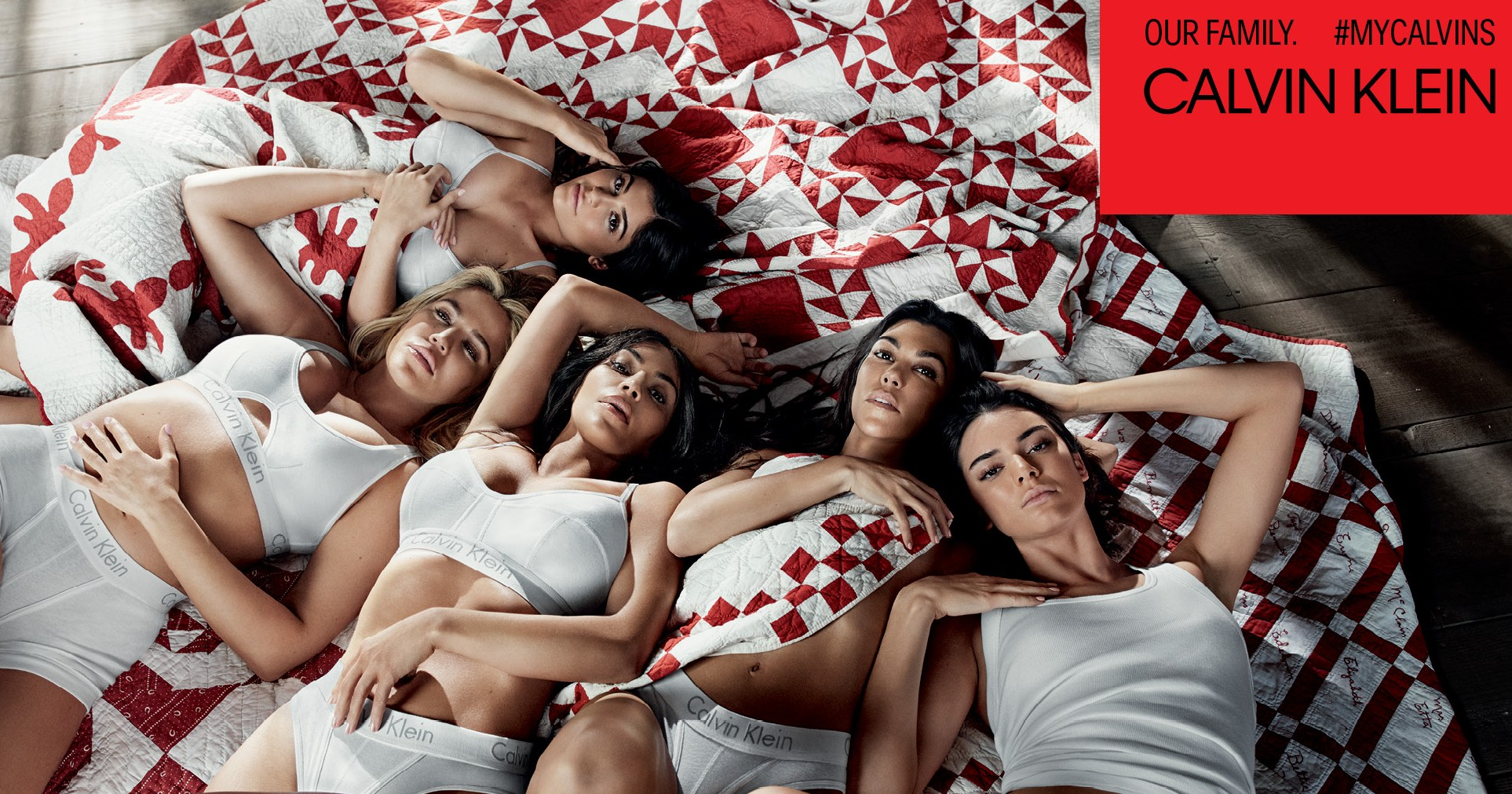 Kylie and Kendall Jenner Team Up with Kourtney, Kim and Khloe Kardashian For a New Calvin Klein Campaign — and It's Major