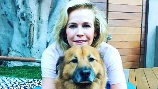 Chelsea Handler's dog Chuck