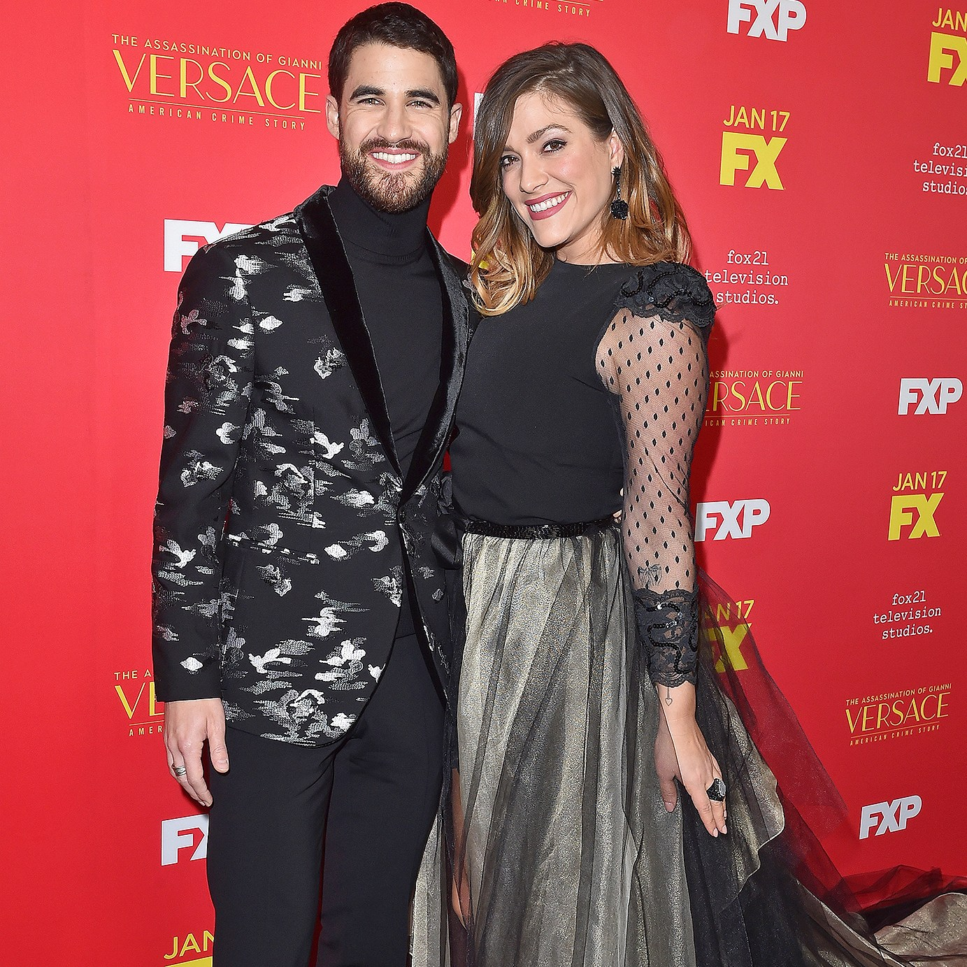 Darren Criss, Mia Swier, Engaged, Assassination of Gianni Versace