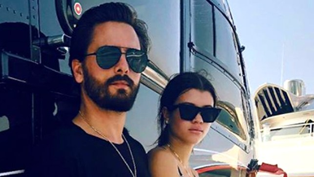 Sofia Richie and Scott Disick Mexico