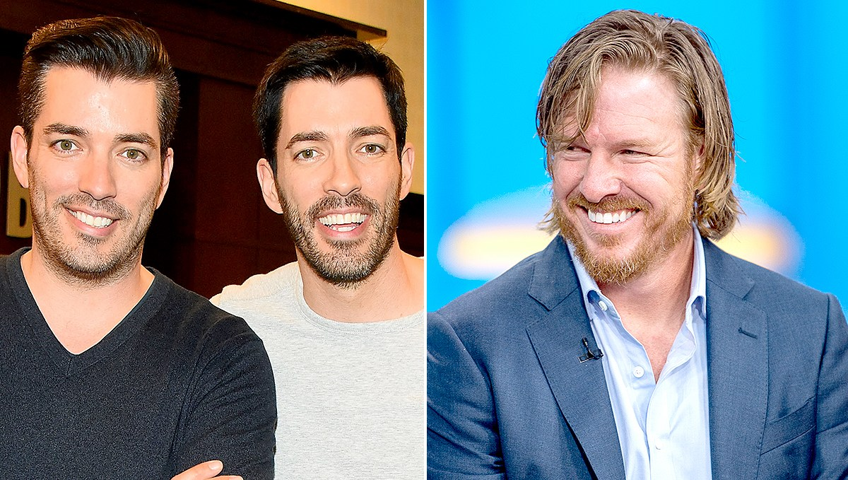Jonathan Scott, Drew Scott, and Chip Gaines