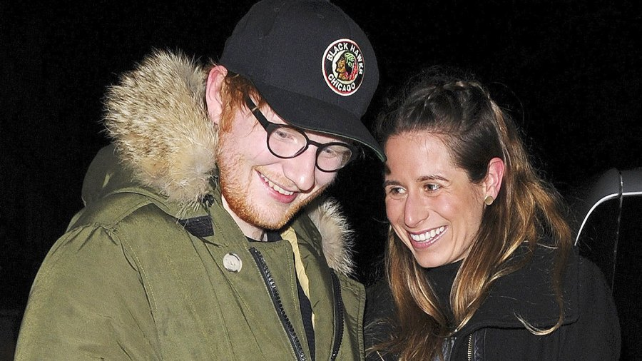 Ed Sheeran, Cherry Seaborn, Engaged, Girlfriend, Fiancee, New Year
