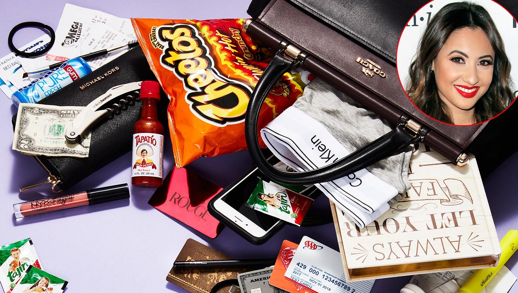 Francia Raisa What's In My Bag