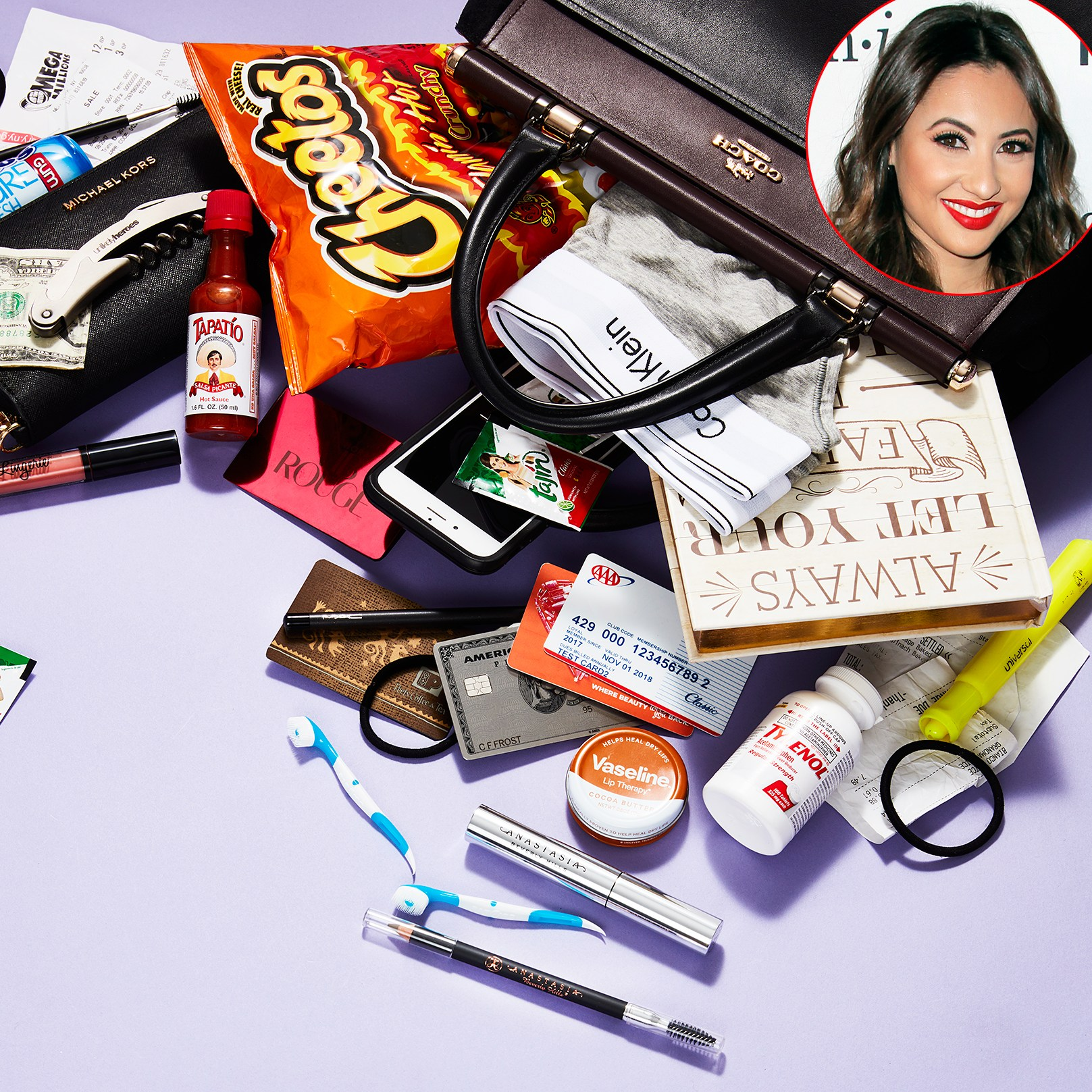 Francia Raisa What's In My Bag