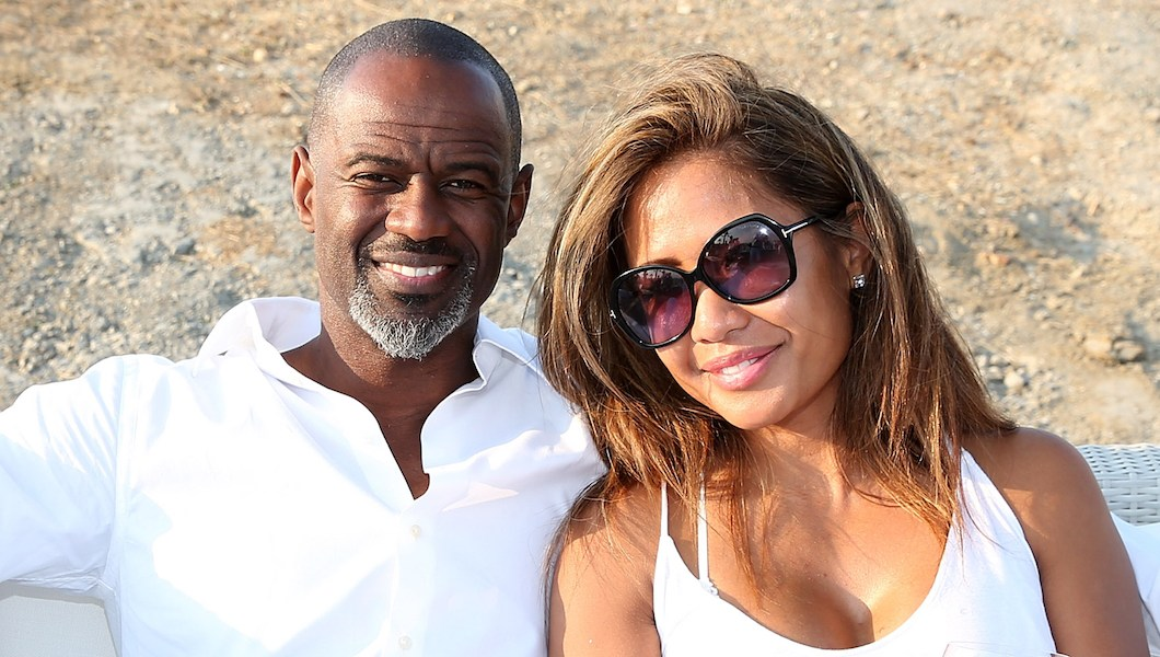 Brian McKnight and Leilani Malia Mendoza