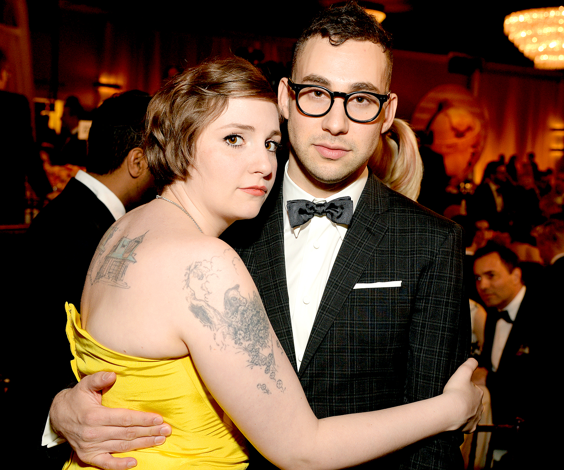 Lena Dunham will 'always' wear Jack Antonoff ring gift