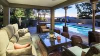 Jane Fonda porch Beverly Hills mansion