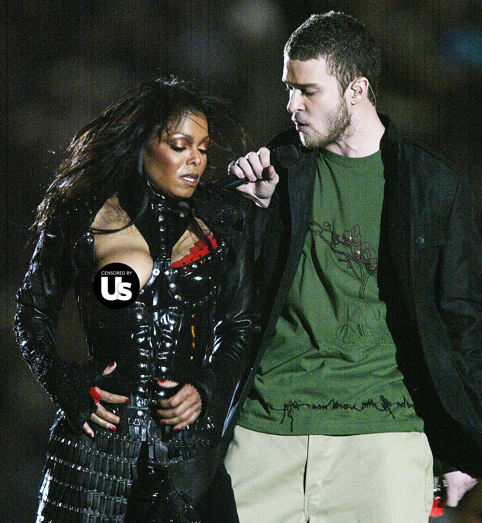 Janet jackson justin timberlake superbowl incident video