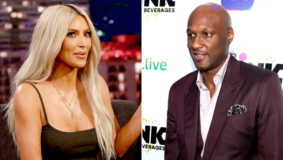 Kim Kardashian and Lamar Odom