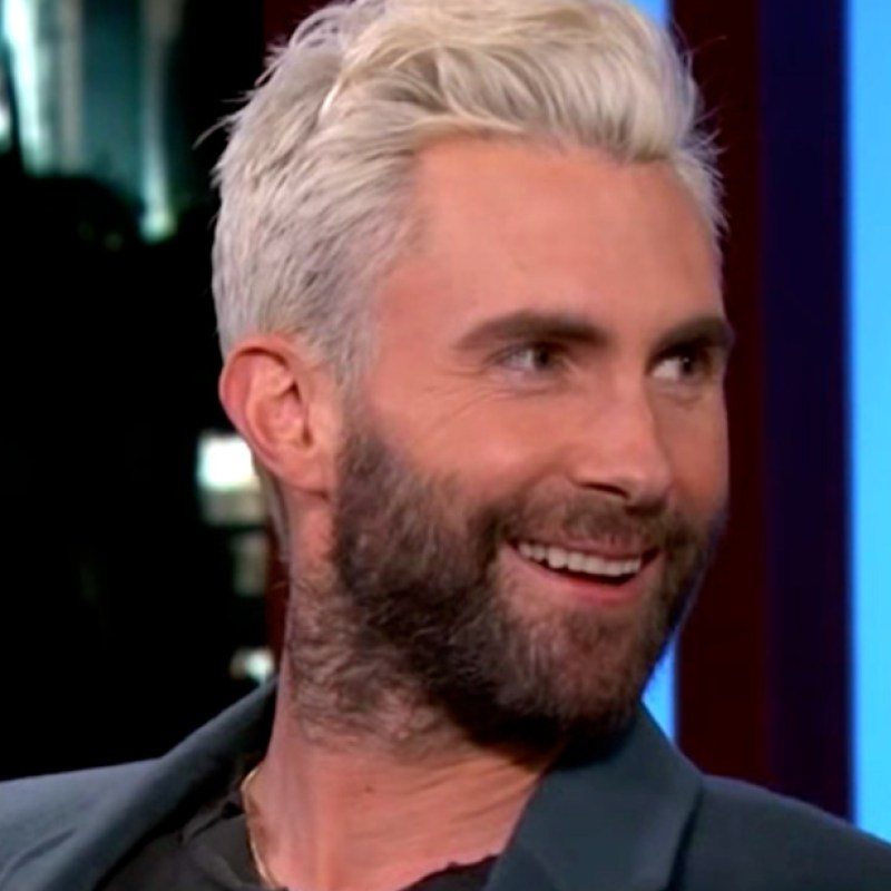 Adam Levine: My Wife Behati Prinsloo \'Loves\' My Blond Hair