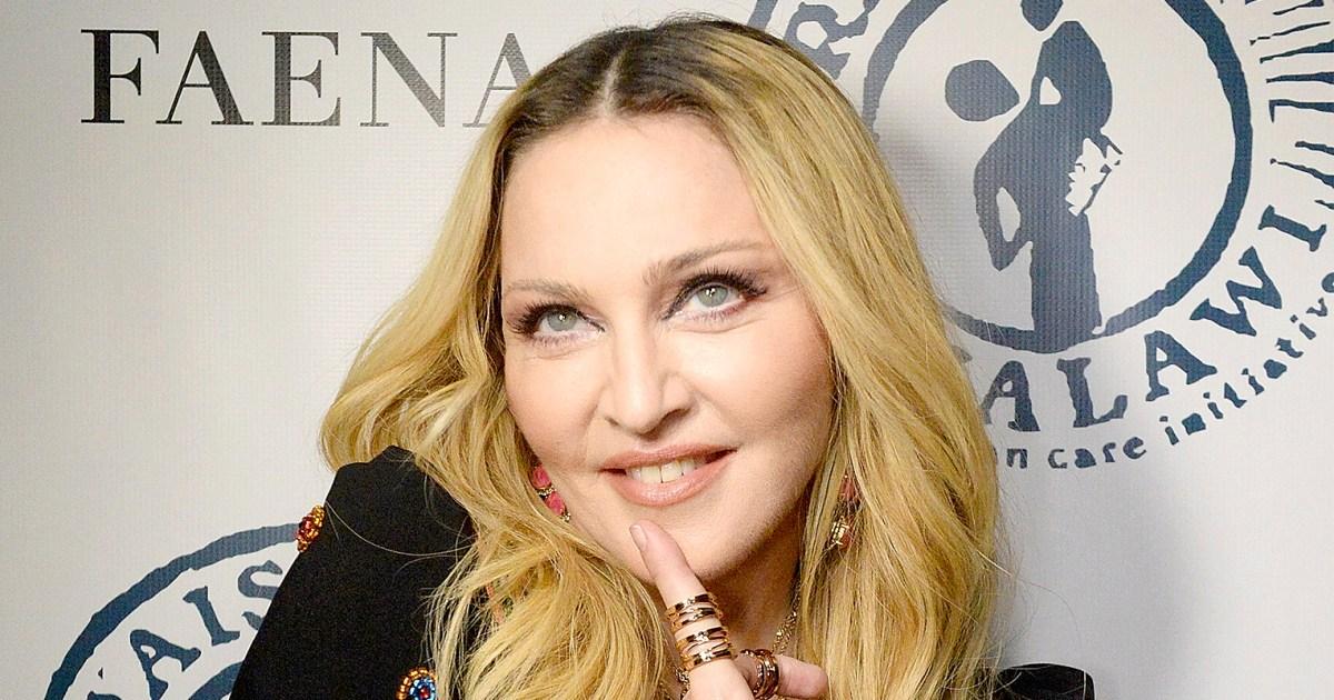 Madonna Posts Topless Selfie With Louis Vuitton Handbag-4704