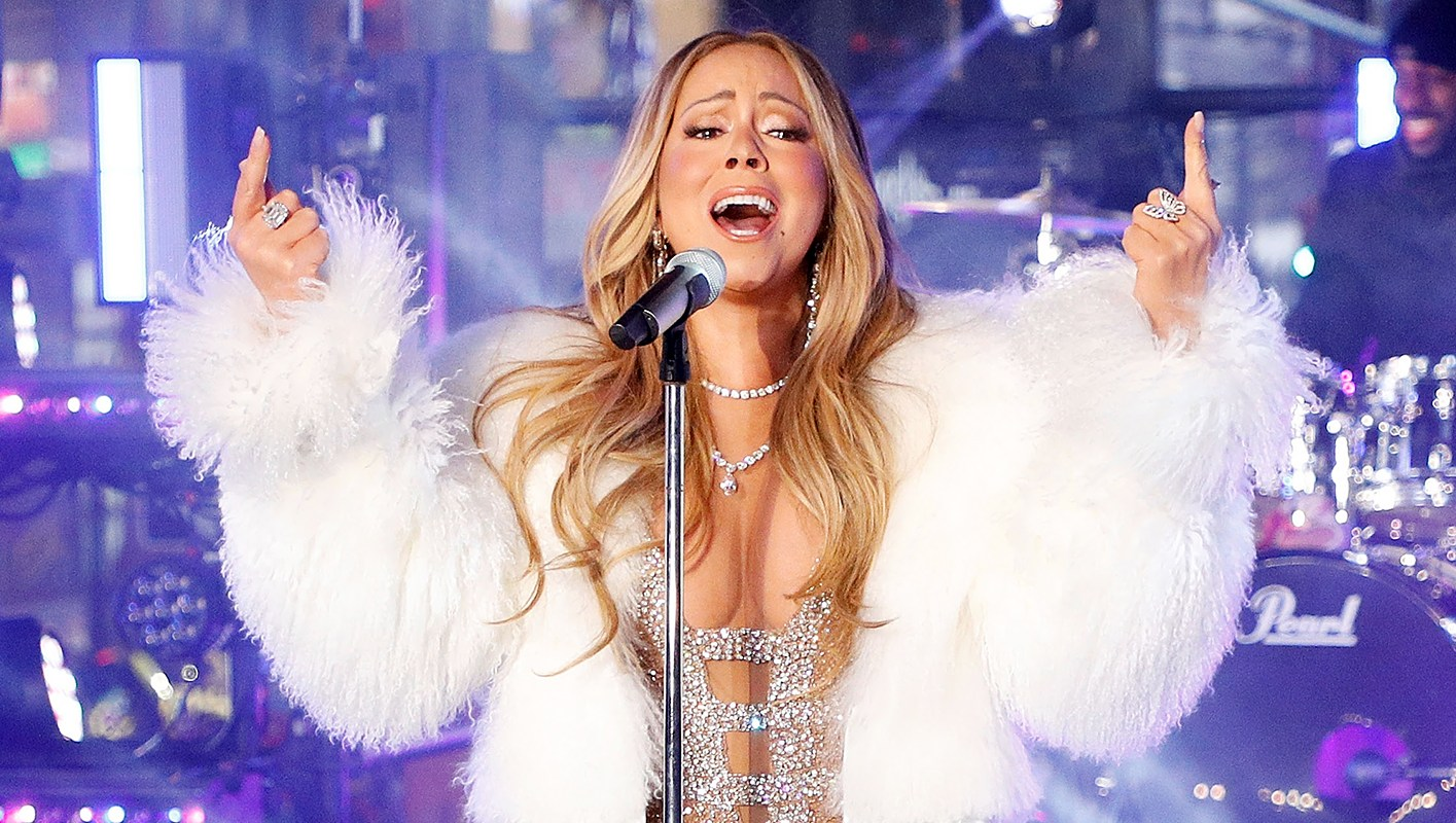 Mariah Carey performs on New Year's Rockin' Eve