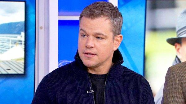 Matt Damon on 'Today' Show